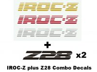 Chevy IROC-Z Plus Z-28 Decal Combo Set - GraphicsPlus123.com