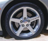 Corvette Wheel Rim Decals _GraphicsPlus123.com