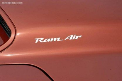 Ram Air decal White - GraphicsPlus.com