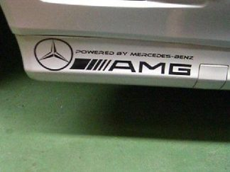 AMG Powered by Mercedes Decal
