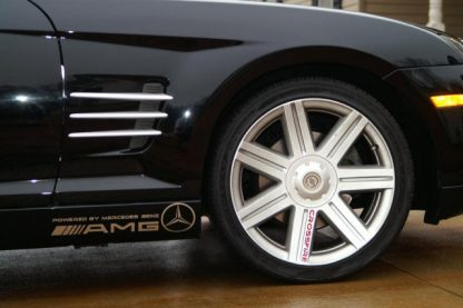 AMG Powered by Mercedes Auto Decals for Crossfire - GraphicsPlus123.com