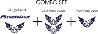 Firebird Combo Decal Set