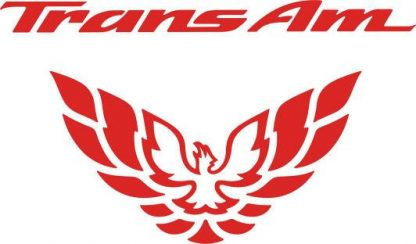 Trans AM Tail Light Decal 99-02