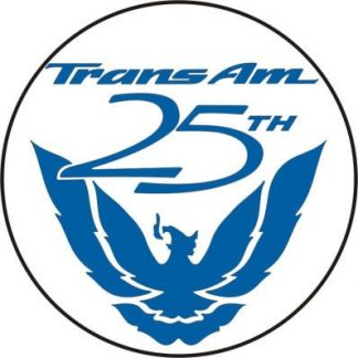 Pontiac Firebird Trans Am 25th Anniversary Wheel Center Decal Set - GraphicsPlus123.com