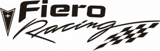 Pontiac Fiero Racing Decal - GraphicsPlus123.com