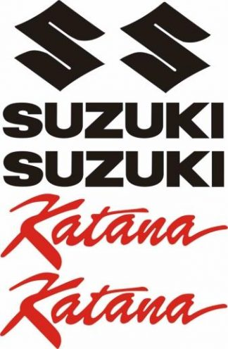 Suzuki Katana Decal Set - GraphicsPlus123.com