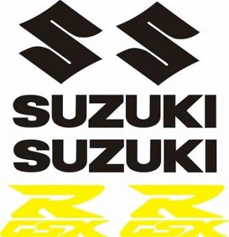 Suzuki GSX Decal Set - GraphicsPlus123.com