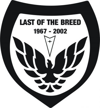 last of the breed decal
